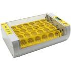 Инкубатор с термостатом, гигрометром и автопереворотом, на 24 яйца + овоскоп