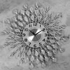 """Часы настенные, серия: Ажур, """"Ожеше""""  d=60 см, d=22 см, 1 АА, плавный ход - фото 7931237"""