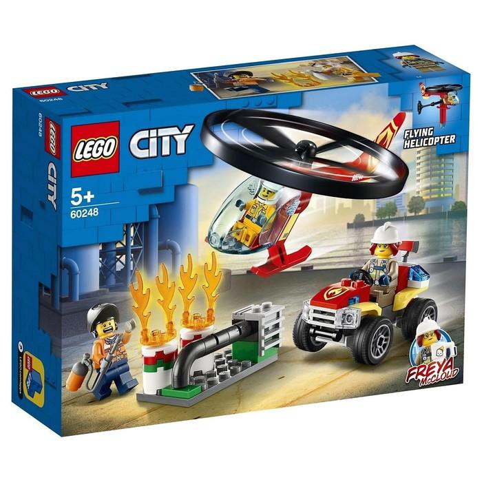 Конструктор «Пожарный спасательный вертолёт»