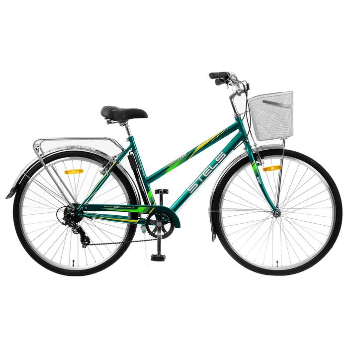 "Велосипед 28"" Stels Navigator-350 Lady, Z010, цвет морская волна, размер 20"""