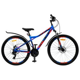 """Велосипед 27,5"""" Stels Navigator-710 MD, V020, цвет синий/чёрный/красный, размер 16"""""""
