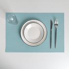 Салфетка кухонная «Плетение», 45×30 см, цвет голубой - фото 486631