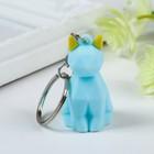 """Rubber keychain 3D """"Cat"""" 4,5x2,5x2 cm"""