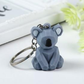 """Rubber keychain 3D """"Koala"""" 4,5x3,3x2,3 cm"""