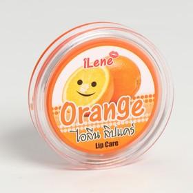 """Бальзам увлажняющий для губ со вкусом апельсина """"Llene lip care Orange"""""""