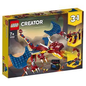 Конструктор Lego Creator «Огненный дракон»