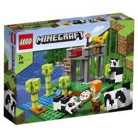 Конструктор Lego Minecraft «Питомник панд»