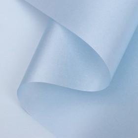 Paper quiet waterproof lamination, color light blue, 58 cm x 5 m 75 microns