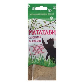 Мататаби успокоительное средство для кошек с запахом валерьяны 5 г