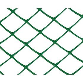 Сетка садовая, 1,2 × 10 м, размер ячейки 35 × 35 мм, зелёная