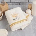 Полотенце махровое King 50х90 см 100% хлопок, 340 г/м2