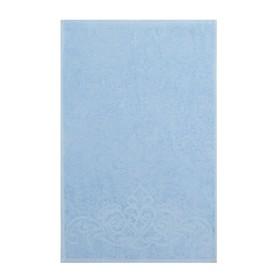 Полотенце махровое «Romance» цвет голубой, 50х90, 330 гр.