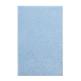 Полотенце махровое «Romance» цвет голубой, 100х150, 320 гр.