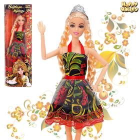 Кукла-модель шарнирная «Варвара-краса»