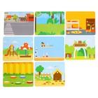 Настольная игра «Живые фигуры», с пластиковыми карточками - фото 105625672