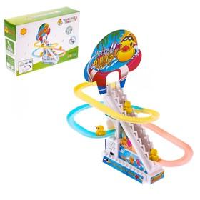Развивающая игрушка «Утята-путешественники», световые и звуковые эффекты