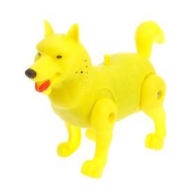 Развивающая игрушка «Бегающая собачка», бегает, МИКС