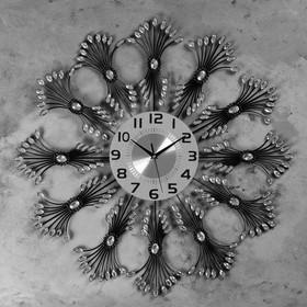 """Wall clock, series: Openwork, """"Rodin"""" d=70 cm, d=22 cm, 1 AA, smooth running"""