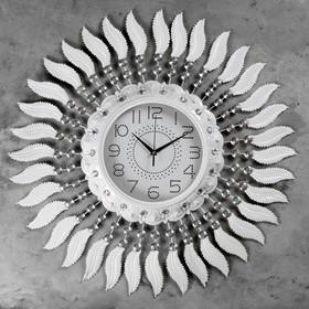 """Часы настенные, серия: Ажур, """"Клементе""""  d=70 см, d=24 см, 1 АА, плавный ход"""