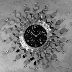 """Wall clock, series: Openwork, """"of Picentino"""" d=70 cm, d=24 cm, 1 AA, smooth running"""