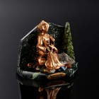 "Souvenir ""Mistress of copper mountain"", 6х11х8 cm, serpentine, gypsum"