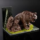 """Souvenir """"the Master of the forest"""", 10х15х10 cm, serpentine, gypsum, minerals"""
