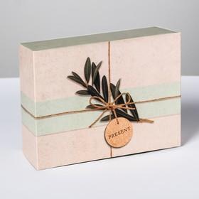 """Foldable box """"Eco style"""", 20 × 15 × 8 cm"""
