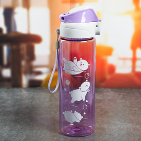 Бутылка для воды «Медведи», 700 мл