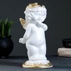 "Фигура ""Малышка ангел"" белая 25х12х12см"