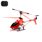 RC helicopter with gyro, color red