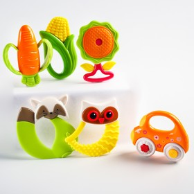"""Set of rattles-teethers """"Our baby"""",6pcs"""