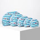 Set purses 5/1, City, sponge 20*to 2.5*13cm, division zipper, blue