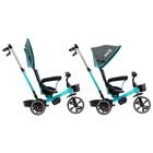 """Велосипед трехколесный Micio Veloce, колеса EVA 10""""/8"""", цвет бирюзовый - фото 736136"""