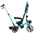 """Велосипед трехколесный Micio Veloce, колеса EVA 10""""/8"""", цвет бирюзовый - фото 736137"""