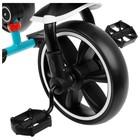 """Велосипед трехколесный Micio Veloce, колеса EVA 10""""/8"""", цвет бирюзовый - фото 736140"""