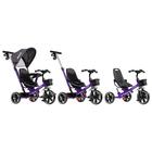 """Велосипед трехколесный Micio Veloce, колеса EVA 10""""/8"""", цвет фиолетовый - фото 105546687"""