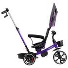 """Велосипед трехколесный Micio Veloce, колеса EVA 10""""/8"""", цвет фиолетовый - фото 105546689"""