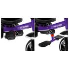 """Велосипед трехколесный Micio Veloce, колеса EVA 10""""/8"""", цвет фиолетовый - фото 105546690"""