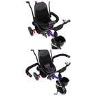 """Велосипед трехколесный Micio Veloce, колеса EVA 10""""/8"""", цвет фиолетовый - фото 105546691"""