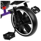 """Велосипед трехколесный Micio Veloce, колеса EVA 10""""/8"""", цвет фиолетовый - фото 105546692"""