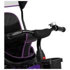 """Велосипед трехколесный Micio Veloce, колеса EVA 10""""/8"""", цвет фиолетовый - фото 105546693"""