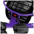 """Велосипед трехколесный Micio Veloce, колеса EVA 10""""/8"""", цвет фиолетовый - фото 105546694"""
