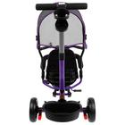 """Велосипед трехколесный Micio Veloce, колеса EVA 10""""/8"""", цвет фиолетовый - фото 105546695"""