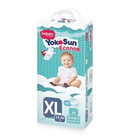 Подгузники-Трусики YOKOSUN ECONOM XL (12-20 кг) 38 шт