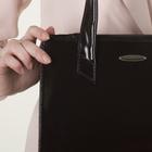 Сумка женская, 2 отдела с перегородками на молнии, наружный карман, цвет коричневый - фото 647477