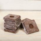 Субстрат кокосовый в кубике, 7 × 7 см, 0,4 л