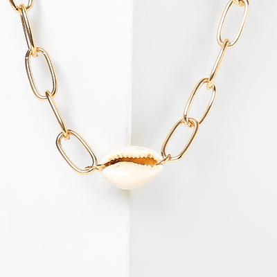 """Pendant """"Sea chain"""" white gold"""