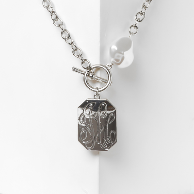 """Pendant """"coat of Arms"""" color silver"""