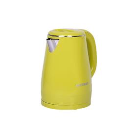 Чайник электрический Oursson, 2200 Вт, объём 1.5 л, пластик/нержавеющая сталь, цвет зелёный