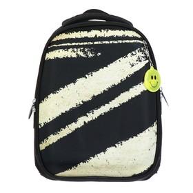 Рюкзак каркасный Calligrata, 37 х 28 х 19 см, «Золото с чёрным»